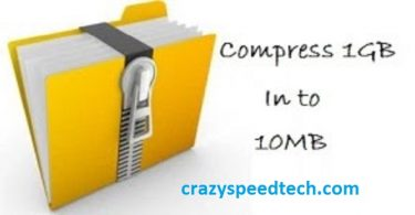 How to Compress 1GB file into 10MB